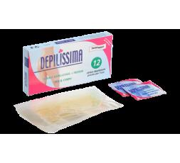 IDEMA DEPILISSIMA STRISCE DEPILATORIE CORPO TRASP DOPPIE CF 6 PZ