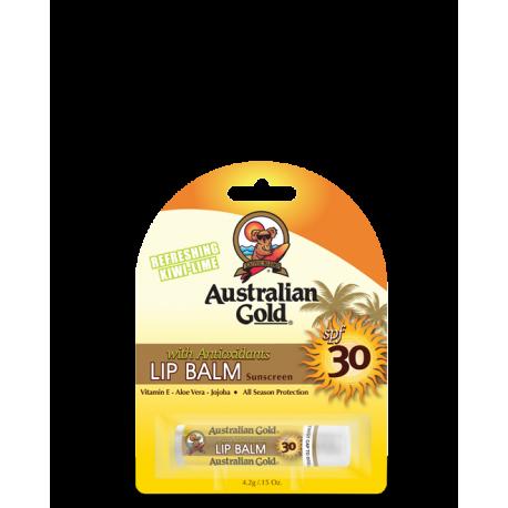 AUSTRALIAN GOLD LIP BALSAM BLISTER SPF 30
