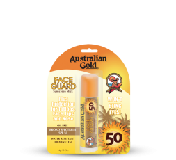 AUSTRALIAN GOLD STICK FACE GUARD SPF 50