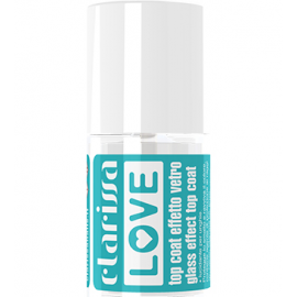 CLARISSA LOVE TOP COAT EFFETTO VETRO 12 ML ART.CL5055