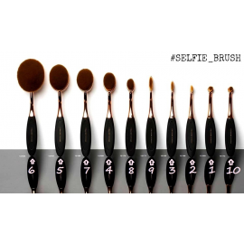BIFFOLI SELFIE BRUSH KIT 10 PENNELLI ASS PLUS