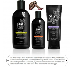 SHINY TATTOO KIT 3 PZ SHO OIL + WAT + CREAM
