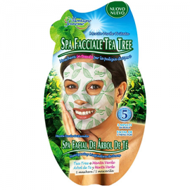 7TH HEAVEN MASK TESSUTO FACE TONIC SPA TEA TREE