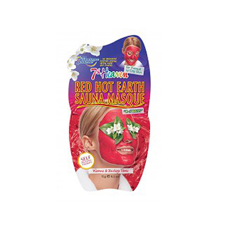 7TH HEAVEN SAUNA MASK ARGILLA ROSSA