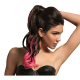 HAIRDO CODA COLOR SPLASH MOSSA 58CM FUCSIA