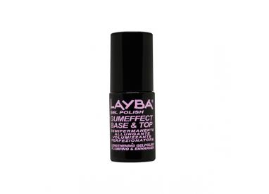 LAYLA LAYBA GUMEFFECT BASE+TOP GEL POLISH 5ML