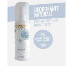 ELPHER NATURAL DEO VAPO TALCO 100 ML