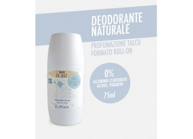 ELPHER NATURAL DEO ROLL-ON TALCO 75 ML