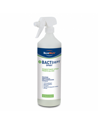 TECNIWORK BACTISEPT SPRAY 500ML
