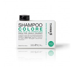 THREE SHAMPOO COLORE 300ML