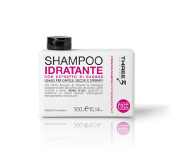 THREE SHAMPOO IDRATANTE 300ML