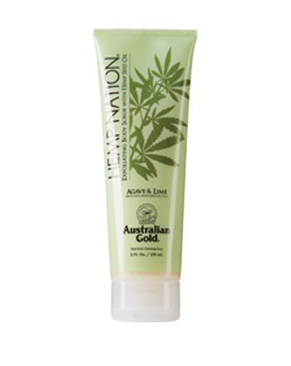 AUSTRALIAN GOLD HEMP NAT AGAVE-LIME SCRUB 235 ML