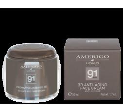 AMERIGO 91MAN CREMA VISO ANTI-AGE 3D 50ML