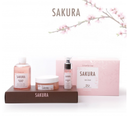 SAKURA RESTORATIVE KIT SHAMPOO + MASK + OIL