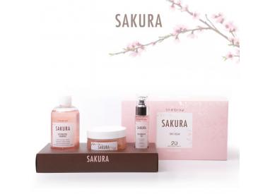 SAKURA RESTORATIVE KIT SHAMPOO + MASK + OIL