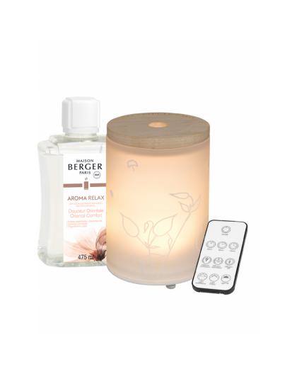 LAMPE BERGER DIFFUSORE ELETTRICO CON RIC475ML AROMA RELAX