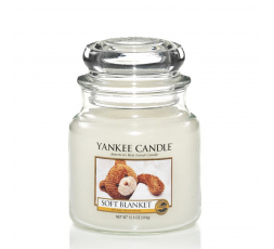 YANKEE CANDLE CLASSIC MEDIUM JAR SOFT BLANKET