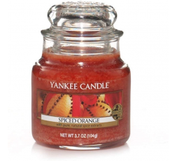 YANKEE CANDLE CLASSIC SMALL JAR SPICED ORANGE