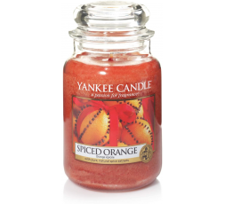 YANKEE CANDLE CLASSIC LARGE JAR SPICED ORANGE