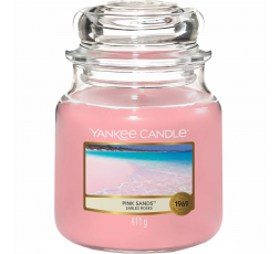 YANKEE CANDLE CLASSIC MEDIUM JAR PINK SANDS