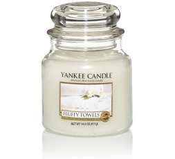 YANKEE CANDLE CLASSIC SMALL JAR FLUFFY TOWELS