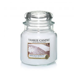 YANKEE CANDLE CLASSIC MEDIUM JAR ANGEL WINGS