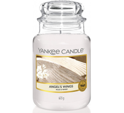 YANKEE CANDLE CLASSIC LARGE JAR ANGEL WINGS