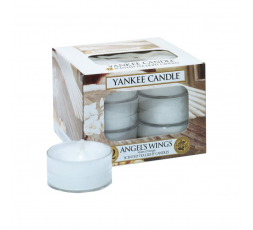 YANKEE CANDLE CLASSIC TEA LIGHTS ANGEL WINGS CF12PZ