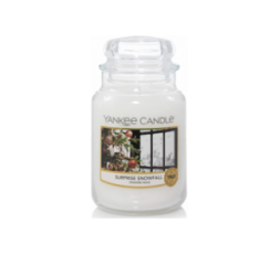 YANKEE CANDLE CLASSIC LARGE JAR SURPRISE SNOWFALL