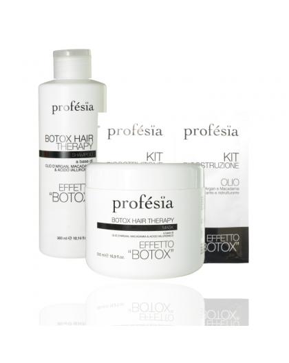 PROFESIA BOTOX KIT: HAIR THERAPY OLIO+BOOSTER, PROFESIA BOTOX MASK + PROFESIA BOTOX SHAMPOO