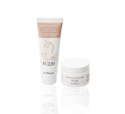 KIT ELPHER SKIN TREATMENT: H022 SENSITIVE SKIN CREAM + H220 HAND TREATMENT
