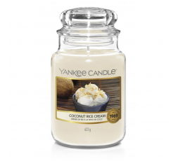 YANKEE CANDLE CLASSIC LARGE JAR COCONUT RICE CREAM
