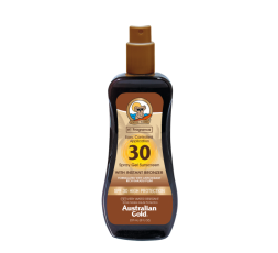 AUSTRALIAN GOLD SPRAY GEL BRONZER SPF 30 240 ML