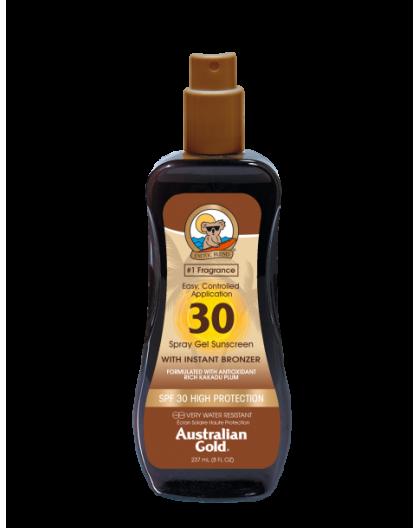AUSTRALIAN GOLD SPRAY GEL BRONZER SPF 30 240 ML